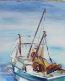 Wellfleet Pier 20x30  Pochade